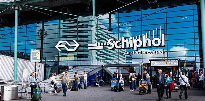 Aeroporto di amsterdam schiphol amstredam tours for Hotel amsterdam stazione