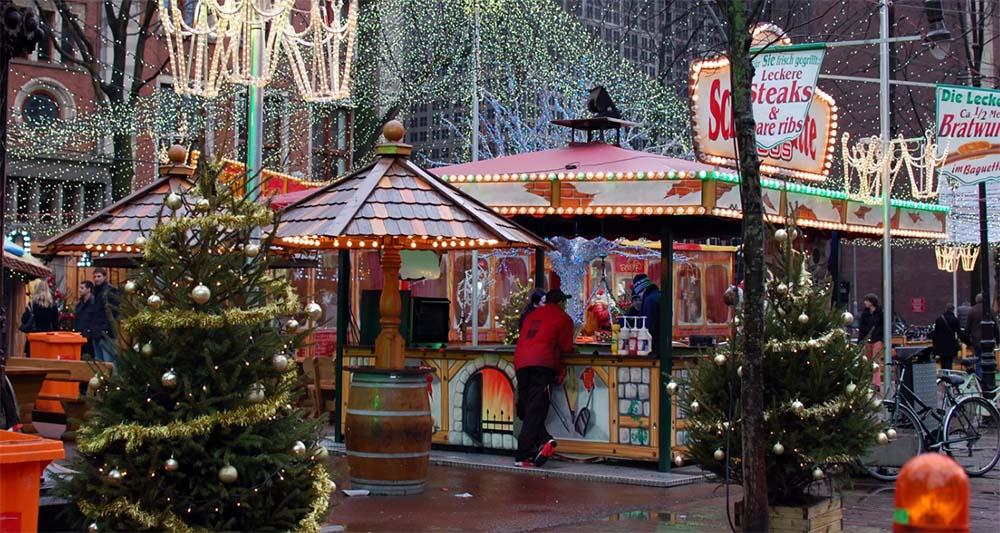 Fiera di Natale ad Amsterdam